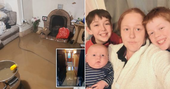 Mum with young kids 'trapped' in house flooded with sewage 17 times in two years
