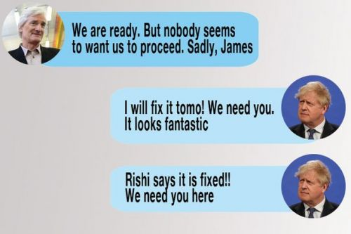 Billionaire James Dyson's full texts with Boris Johnson about 'fixing' tax issue