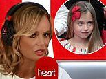 Amanda Holden fumes as daughter's school forces Hollie, 7, to ask Santa for 'world peace' when she really wants a Barbie