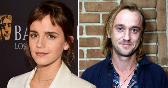 Emma Watson and Tom Felton reunite for guitar lesson and Harry Potter fans are shipping them