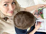 Holly Willoughby shares a glimpse of homeschooling her son Chester in lockdown