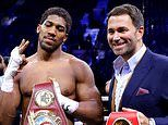 Promoter Eddie Hearn insists Anthony Joshua would be the underdog in a fight against Tyson Fury