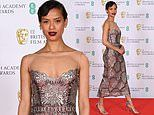 BAFTA 2021 Film Awards: Gugu Mbatha-Raw dazzles in a sequin dress