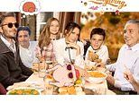 Victoria Beckham shares amusing photoshopped snap with her family to celebrate Thanksgiving