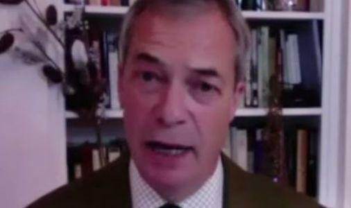 Farage warns UK could be under lockdown measures until Easter as he blasts PM's failures