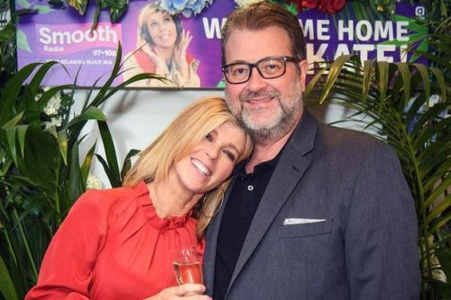 Kate Garraway's husband has opened his eyes as he wakes from coma