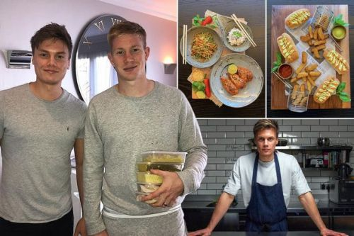 Saturday kitchen: Two recipes footballers love to get around eating 'junk food'