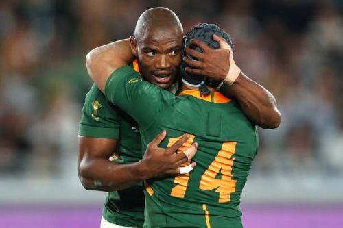 Rags to riches tale of Springbok wing whose try beat England in World Cup final