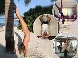 Meet the topsy turvy posers! Exercising upside down is the latest celeb fitness craze