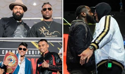 Deontay Wilder vs Tyson Fury undercard: Who is fighting on undercard of Wilder vs Fury 2?