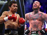 Manny Pacquiao says he'll only agree to face Conor McGregor if his OWN company co-promote the fight