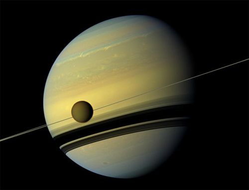 Titan moving away from Saturn faster than expected
