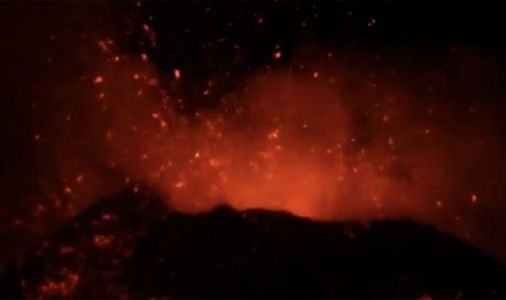Mount Etna crater ruptures: Explosive volcano 'splits open' after powerful lava eruptions