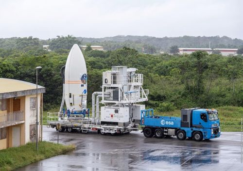 Vega rocket's return-to-flight launch waits for improved wind conditions