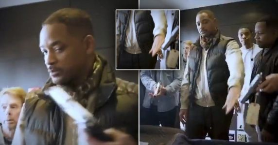 Viral clip of Will Smith serving gun safety lesson on set unearthed following Halyna Hutchins shooting