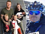John Arne Riise shows no ill-effects from car crash as former Liverpool man goes on 24km hiking trip