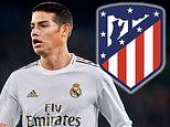 Real Madrid's James Rodriguez 'set for stunning £13.5million move to city rivals Atletico Madrid'