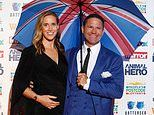 Helen Glover and Steve Backshall have become parents to twins