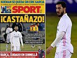 Spanish papers pile into Real Madrid after 'worst defeat of the Zidane era'