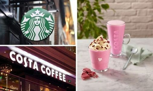 Starbucks and Costa Coffee launch new drink and food items for spring - full menu