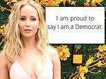 Jennifer Lawrence clarifies her voting record after admitting she used to be 'a little Republican'