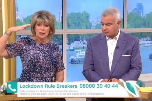 Ruth Langsford confronted shopper for not socially distancing in supermarket