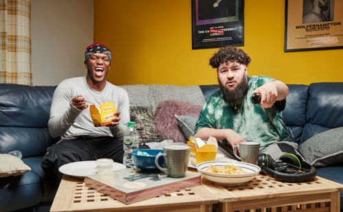 Who is producer S-X and how does he know KSI as close pals star on Celebrity Gogglebox?