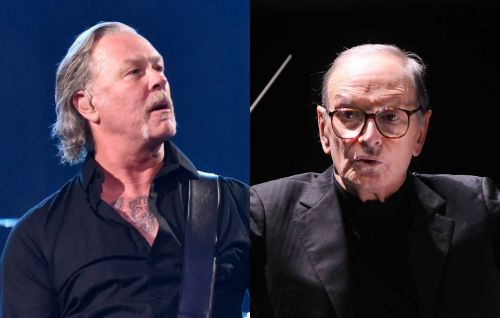 "Metallica's James Hetfield pays tribute to Ennio Morricone, ""part of the Metallica family"""