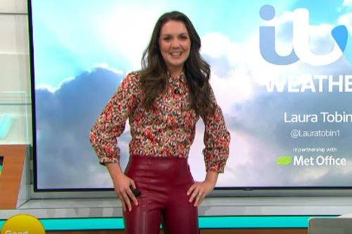 GMB's Laura Tobin had to ask boss to pull down her trousers amid fashion blunder