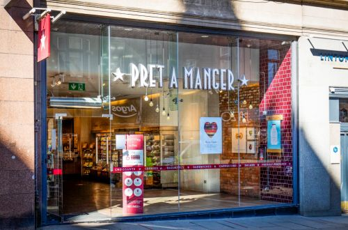 Which branches of Pret are re-opening and what will be on the menu?