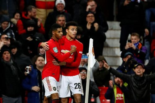 Marcus Rashford's advice to Mason Greenwood after latest star turn