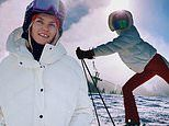Model Jess Hart says Australia is in her thoughts as she goes skiing in Aspen during a holiday