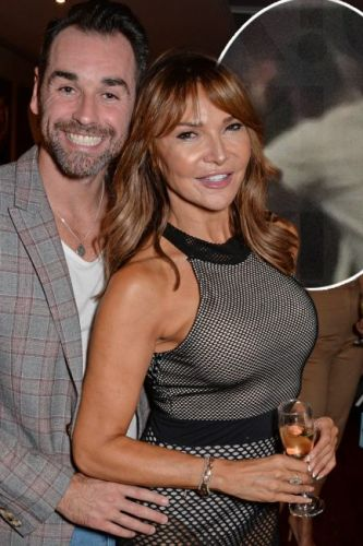 Lizzie Cundy DENIES dating Ben Jardine after being spotted KISSING the Celebrity Big Brother star