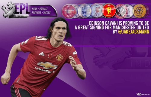 Edinson Cavani is proving to be a great signing for Manchester United