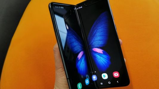 The Samsung Galaxy Fold 2 Might Have an Under-Screen Camera