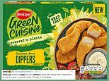 Vegans rejoice as Birds Eye releases their meat-free 'chicken' dippers