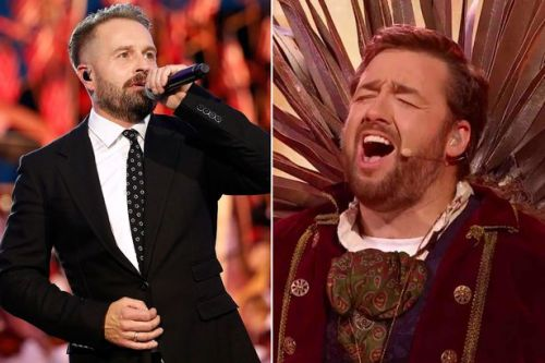 Alfie Boe accidentally told Masked Singer's Jason Manford he's a 's**t singer'