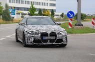 New 2021 BMW M4: prototype reveals bold front end