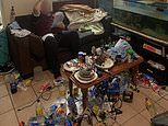Inside the filthy den of an alleged paedophile