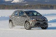 New small Toyota SUV: 4x4 crossover begins winter testing