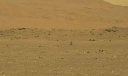 Mars helicopter: Watch the historic moment NASA's Ingenuity leaps from the surface of Mars
