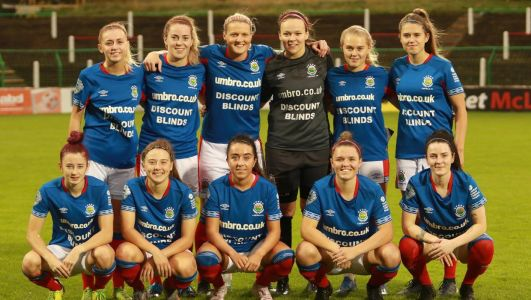 Linfield Ladies face tough trip to Belgium in UEFA Women's Champions League qualifiers