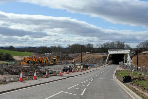 Drivers told to be aware as work on A9 gets back underway