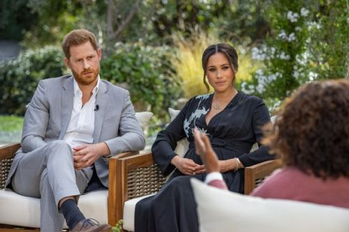 Harry and Meghan claim Queen cancelled visit in unaired clips from Oprah chat