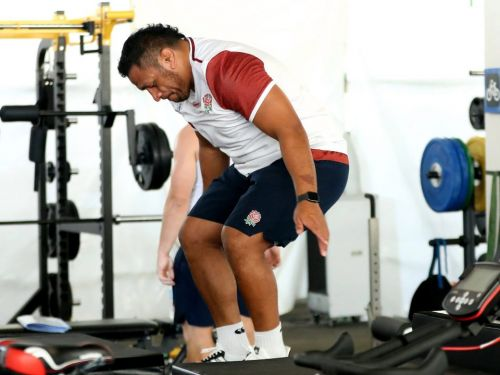 Rugby World Cup: Mako Vunipola and England teammates pump iron to the soundtrack of Fredo and K-Trap