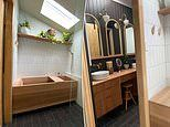 Mum wows hundreds with her incredible Japanese zen bathhouse in her home