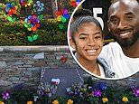 Deranged man, 28, arrested for 'digging up grave he believed belonged to Kobe Bryant and daughter'