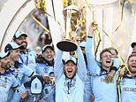 The only way to win a Cricket World Cup! (In a maelstrom of emotion, energy and pure elation)