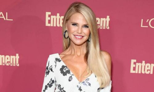 Christie Brinkley wows in strapless swimsuit for sunset photo in Caribbean - and fans react