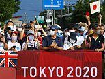 Japanese fans ignore calls to watch Tokyo 2020 Games at home by lining streets to cheer on athletes